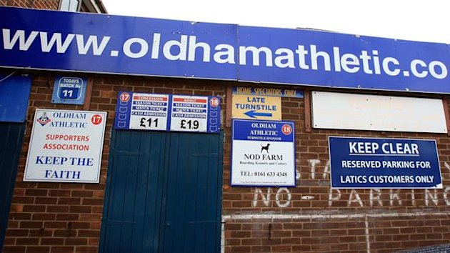 2009-10 Boundary Park, home of Oldham Athletic Football Club