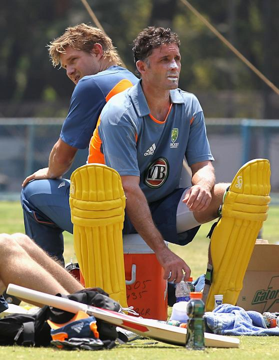 2011 ICC World Cup - Australia Training Session