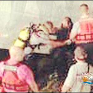 Divers Rescue Man Trapped In Submerged Truck