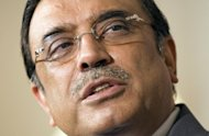 Pakistani President Asif Ali Zardari, seen here in 2008, has issued a decree to prevent actions taken in the past two months by the ex-premier, recently ousted by judges, from being challenged in court