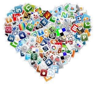 Holiday Messages for Business Series: Valentines Day image Social Media Valentines Day