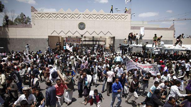 One Protester Killed After Storming U.S. Embassy in Yemen