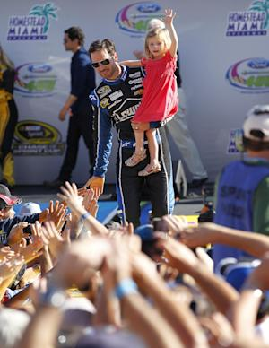 Jimmie Johnson wins 6th NASCAR championship