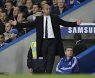 Chelsea manager Roberto Di Matteo during his side's match against Newcastle on May 2. He admits Chelsea's hopes of finishing in the Premier League's top four are in tatters after a sublime brace from Papiss Demba Cisse fired Newcastle to a 2-0 win