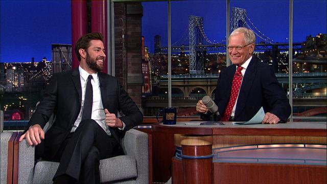 David Letterman - John Krasinski Is A Handsome Black Man