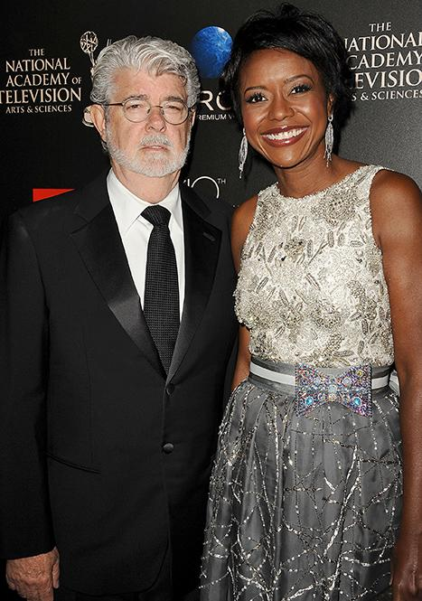 George Lucas, Mellody Hobson Throw Huge Wedding Party In Chicago