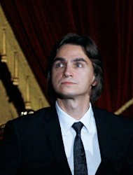 The Bolshoi ballet's artistic director, Sergei Filin, attends a gala opening of the Bolshoi Theatre in Moscow on October 28, 2011. Filin has left Russia for Germany in the hope of recovering his eyesight after an acid attack