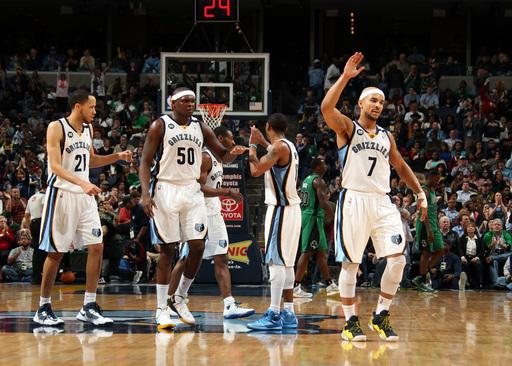 Bayless' 30 leads Grizzlies past Celtics, 110-106