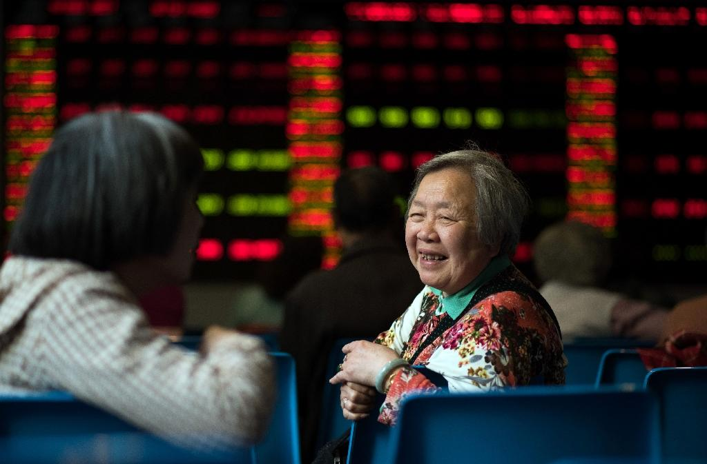 China shares close up more than 3%