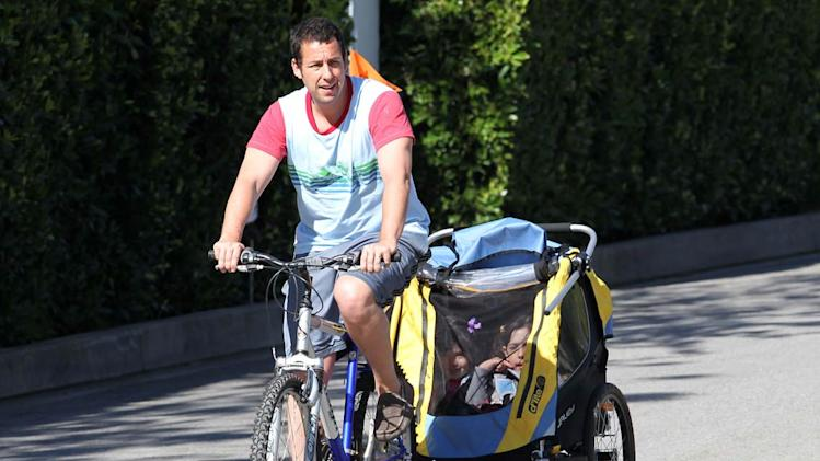 Adam Sandler Bike Ride
