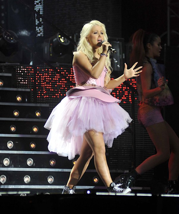 X Factor Live Tour: Amelia Lily / WENN