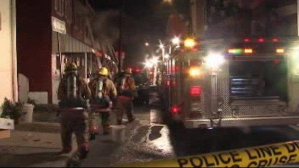Fire in Lancaster kills 2, injures 3 firefighters