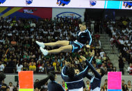 The Adamson Pep Squad. (NPPA)