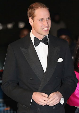 PICTURE: Prince William Attends Winter Whites Gala Without Pregnant Kate Middleton