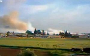 Massive Explosion Exposes Syria's Fake Cease Fire