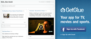 Viggle, GetGlue Lead Way in New Era of Social TV image GetGlue banner
