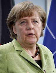 Merkel, en Berlin, anteayer