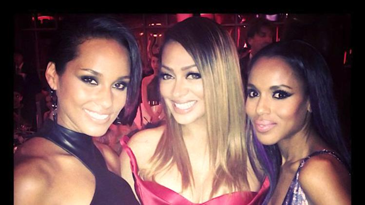 Alicia Keys, Lala Vasquez and Kerry Washington
