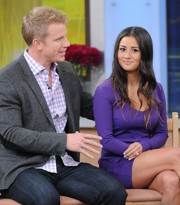 Sean Lowe and Catherine Giudci stop by &amp;#39;Good Morning America&amp;#39; in NYC