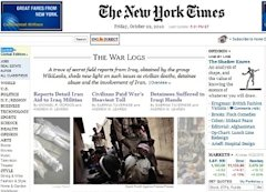 New York Times on WikiLeaks