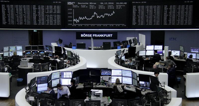 Wall Street jumps with bond prices as markets await ECB meeting
