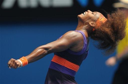 Williams, Azarenka into 3rd round in Australia