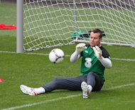 Concerns over Shay Given's fitness have been allayed by Republic of Ireland assistant manager Marco Tardelli
