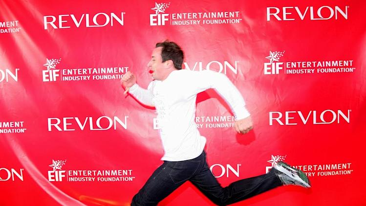 Jimmy Fallon attends the 12th Annual EIF Revlon Run/Walk For Women at Times Square on May 2, 2009 in New York City.