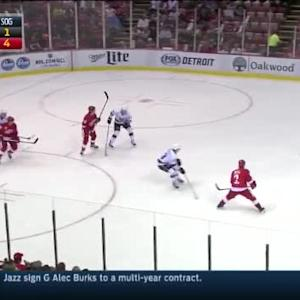 Kings at Red Wings / Game Highlights