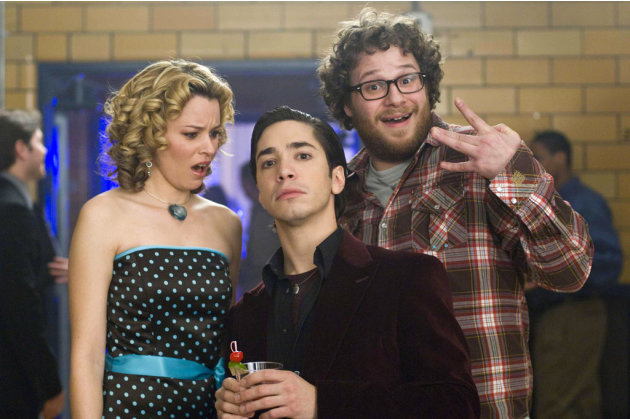 Justin Long Elizabeth Banks Seth Rogen Zack and Miri Make a Porno Production Stills The Weinstein Company 2008