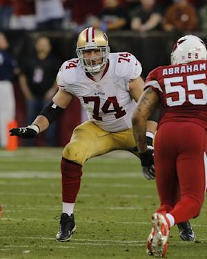 49ers sign Joe Staley to 2-year extension