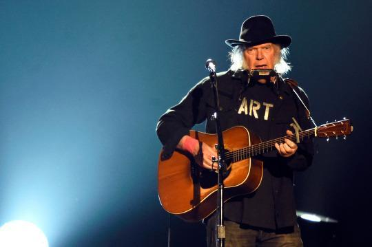 Neil Young Previews Cheeky 'Rock Starbucks' Video