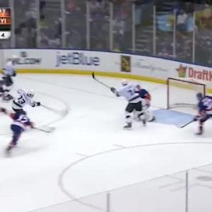 Jaroslav Halak Save on Tyler Toffoli (10:42/3rd)