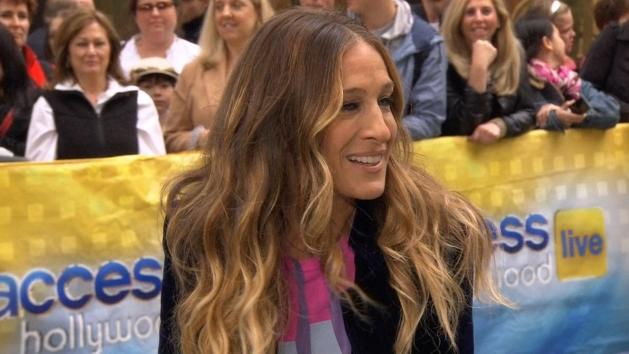 Sarah Jessica Parker stops by Access Hollywood Live on October 25, 2012 -- Access Hollywood
