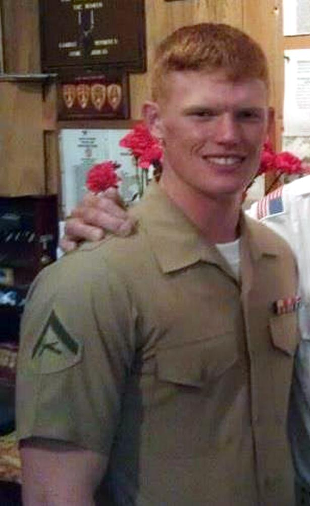 This undated photo provided by the U.S. Marines shows Lance Cpl. Joshua C. Taylor of Marietta, Ohio. Taylor, 21, was killed with six other Marines in an explosion during a Nevada training exercise on Monday, March 18, 2013. (AP Photo/U.S. Marines)