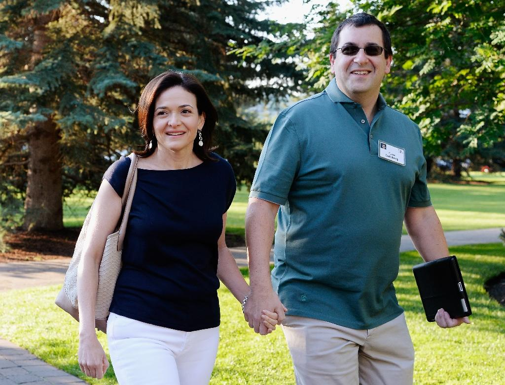 Husband of Facebook's Sheryl Sandberg dies suddenly