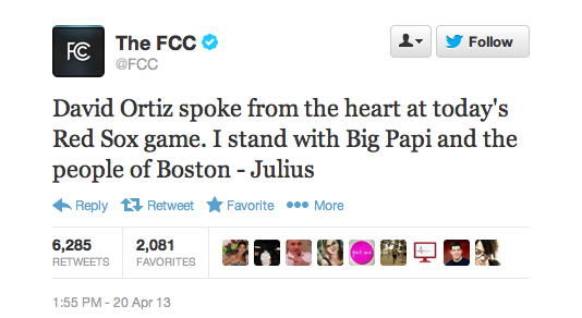 FCC to Boston Red Sox Player David Ortiz: F--k Yeah (Video)