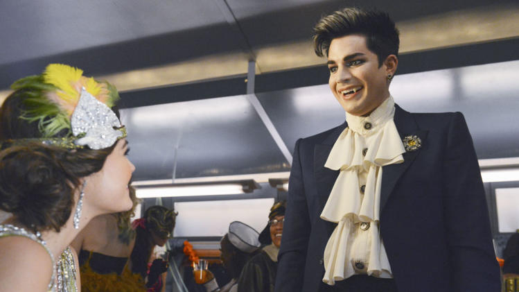 """Pretty Little Liars"" - ""This Is a Dark Ride"": LUCY HALE, ADAM LAMBERT"