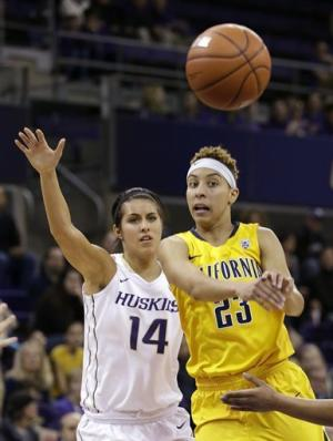 No. 6 California womn beat Washington 78-50