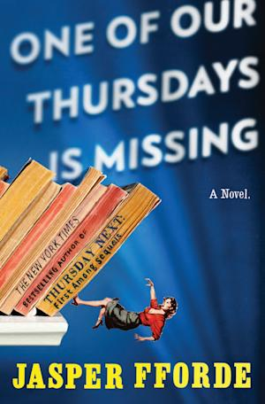 "In this book cover image released by Penguin Group, ""One of Our Thursdays is Missing"" by Jasper Fforde, is shown. (AP Photo/Penguin Group)"