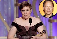 Lena Dunham, Chad Lowe(inset) | Photo Credits: Paul Drinkwater/NBC, Landov