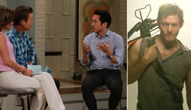 Steven Yeun on Access Hollywood …
