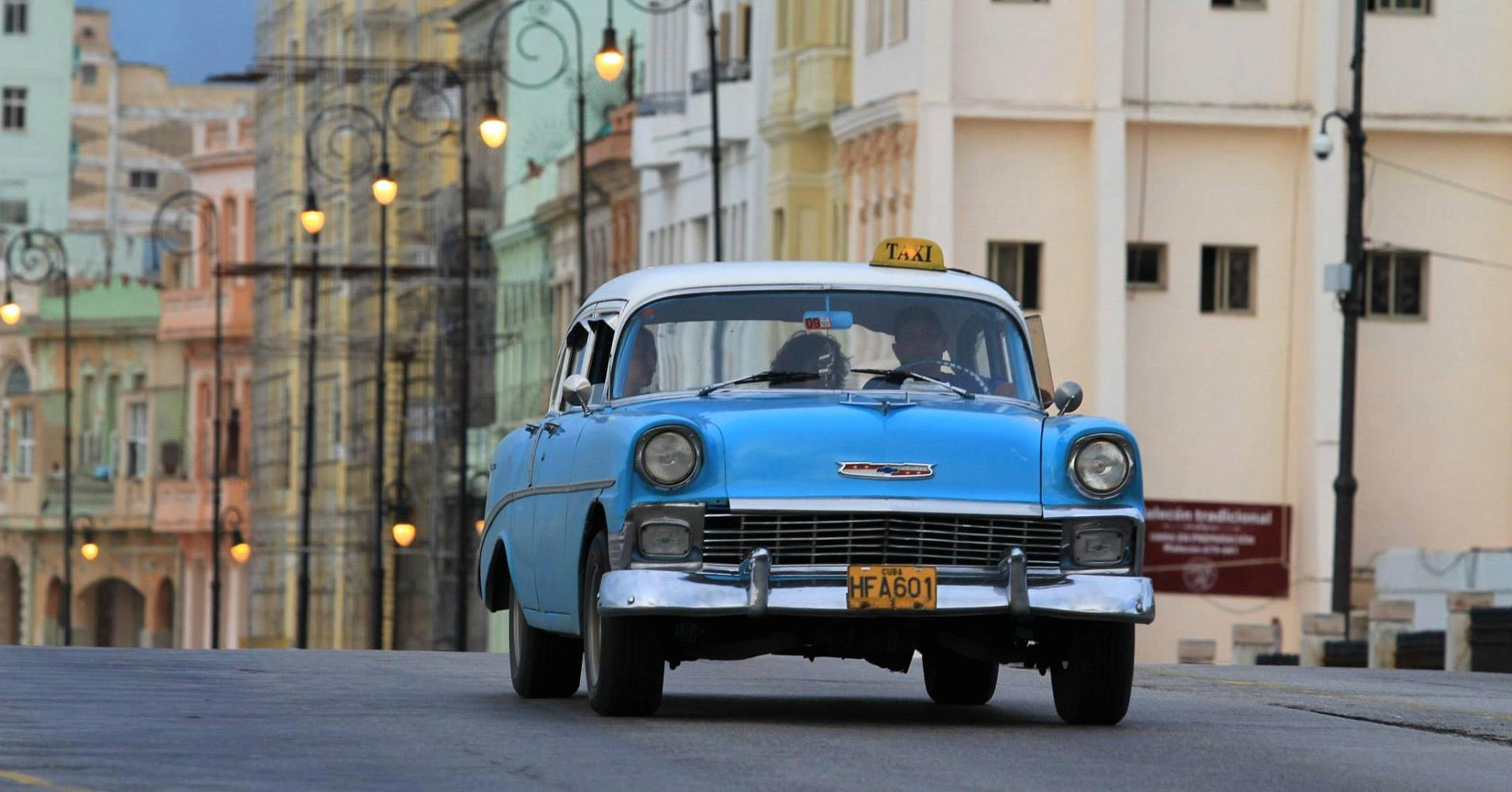 They're alive! Cuba's Frankenstein classic cars