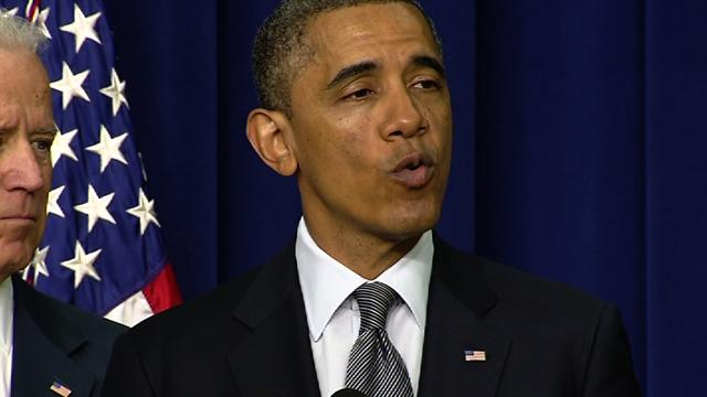 "Obama: ""Theater of war"" weapons ""have no place in a movie theater"""