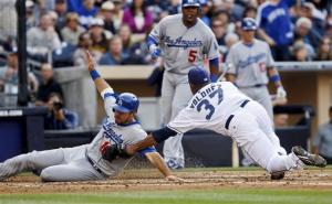 Magic watches as Dodgers beat Padres 5-3