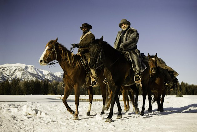 "This undated publicity image released by The Weinstein Company shows, from left, Jamie Foxx as Django and Christoph Waltz as Schultz in the film, ""Django Unchained,"" directed by Quentin Tarantino. (AP Photo/The Weinstein Company, Andrew Cooper, SMPSP, File)"