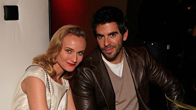 Inglourious Basterds DVD Launch party 2009 Diane Kruger Eli Roth