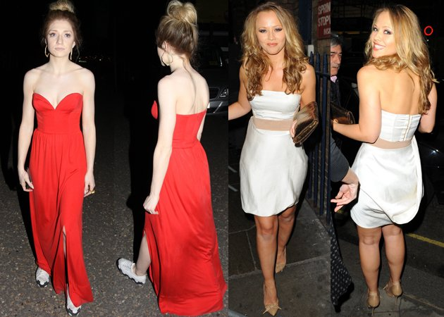 nicola roberts kimberley walsh