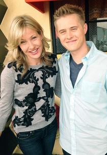 Joey Lauren Adams and Lucas Grabeel | Photo Credits: Lizzy Weiss/Twitter
