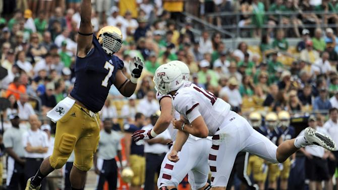 Notre Dame braces for Air Force's option offense